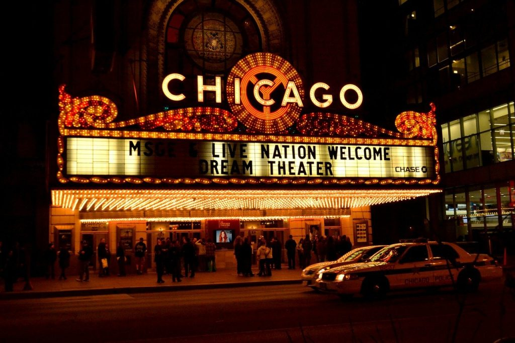 chicago, theater, chicago night